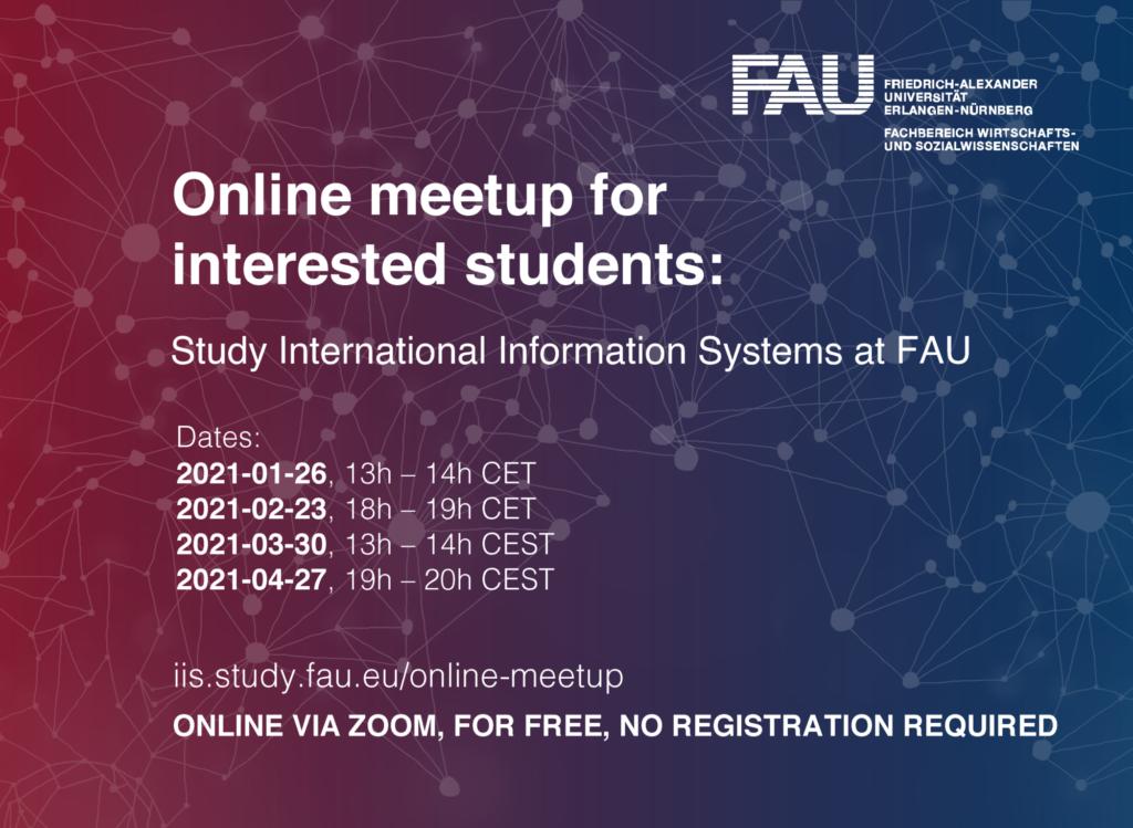 Einladung Online-Meetup IIS